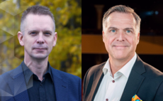 Hi5 CEO Niklas Tiger (left) and Advania Sweden CEO Tomas Wanselius (right)