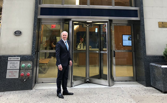CEO Mike Norris as he opens Computacenter's first New York office
