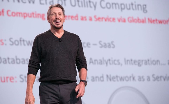 Five times Larry Ellison went on the offensive on Oracle's Q1 earnings call